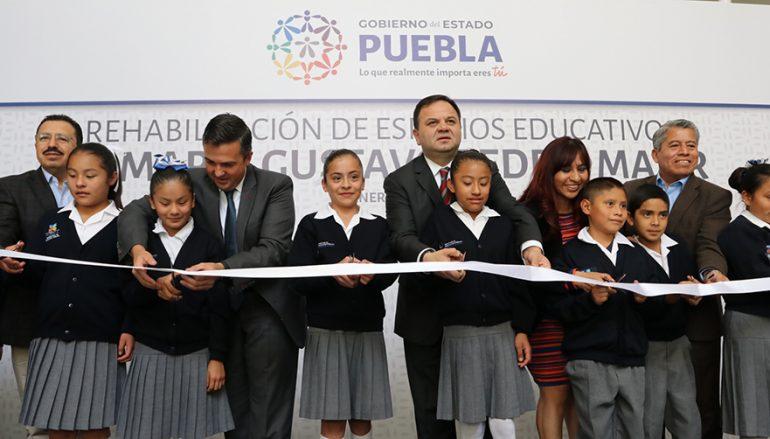Escuelas en Puebla