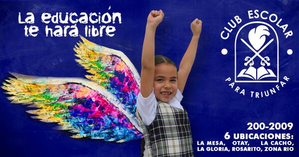 Club Escolar para Triunfar primarias en tijuana