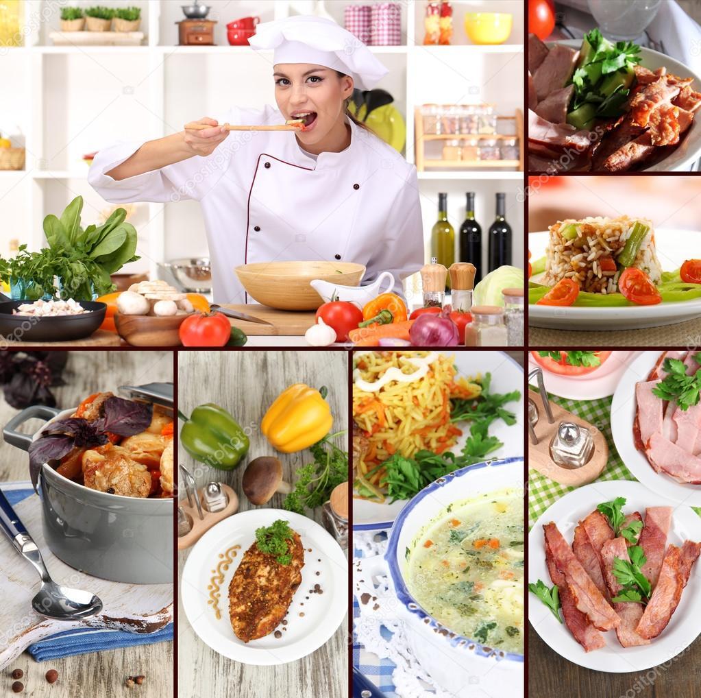 Le chef Collage - escuelas de veracruz de cocina